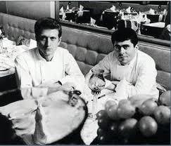 Michel (left), Albert