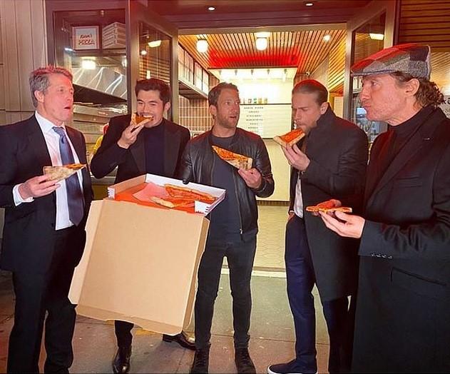 Hugh Grant, Dave Portnoy, Matthew McConaughey